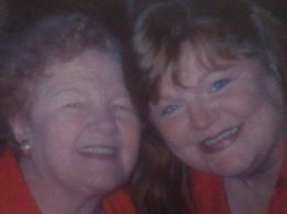 Beth Thomas and her mother