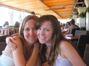 Melodie and daughter