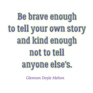 Glennon Doyle Melton, courage, Love Warrior