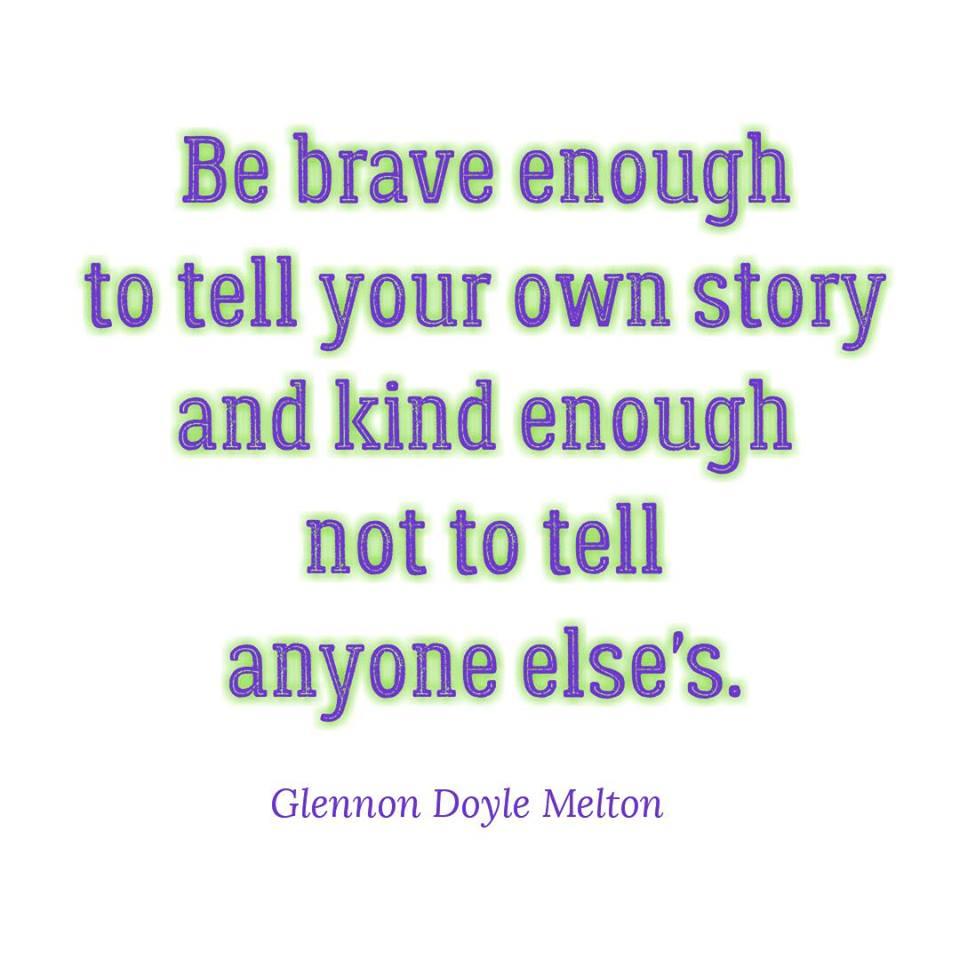 Glennon Doyle Melton, courage, Love Warrior
